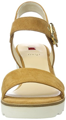 Högl 3-10 6222 1500, Sandales Compensées Femme Marron (caramel1500)