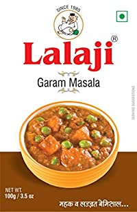 Lalaji Supreme Quality Garam Masala Powder Used in Dishes for its mouthwatering Taste 100 gm (100)