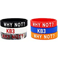 Lorh's store NBA Basketball Westbrook Why Not Inspirierende Armbänder Sport Silikon Armband 6 Pcs