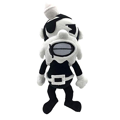 """Bendy And The Ink Machine Butcher Gang 7"""" Collectable Plush (Barley)"""