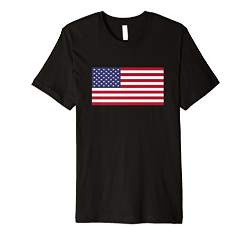 United States Flag T-Shirt USA America American 4th of July