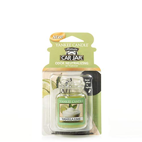 Yankee Candle 1220892E Deodoranti per Auto, Car Vaso Ultimate, Vanilla Lim