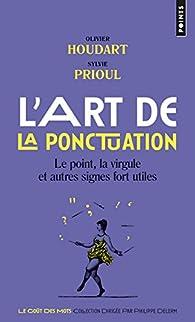 L'Art de la ponctuation par Sylvie Prioul