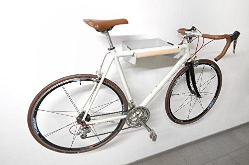 Bike-Butler Garderobe Fahrrad-Wandgarderobe zur Aufbewahrung der alltäglichen Gegenstände