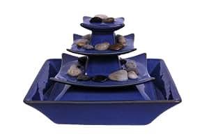 Ambiente Keramik Luftbefeuchter-Brunnen