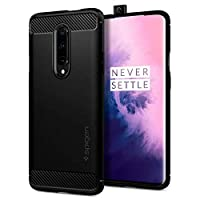 Spigen Oneplus 7 Pro Case, Flexible TPU High Protection, Black