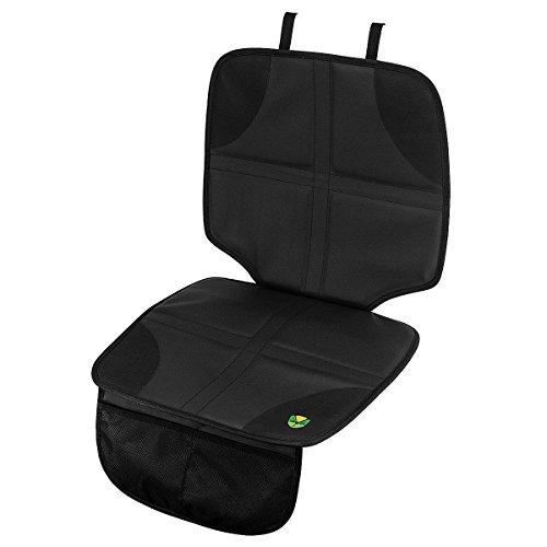 Preisvergleich Produktbild Autositzauflage Unterlage Kindersitz Spielzeugtasche Auto Sitzschoner Sitzschutz (Schwarz)