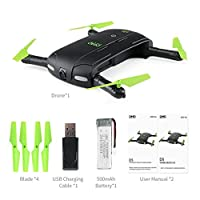 VENMO Altitude Hold RC Drone Quadcopter Pocket Foldable Stable Hover Wifi FPV Drone With 3.0M Pixel HD Camera For Beginners Phone App Control from VENMO