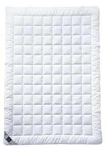 Billerbeck 7120510012 Naturdecke 543 Sari Superlight, 135 / 200 cm weiß