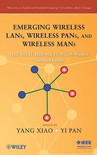 Ieee 802 Lan (Emerging Wireless LANs, Wireless PANs, and Wireless MANs: IEEE 802.11, IEEE 802.15, 802.16 Wireless Standard Family: IEEE 802.11 TM, IEEE 802.15 TM, ... Series on Parallel and Distributed Computing))
