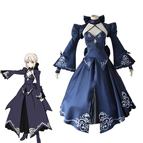 RL Eraspooky Schicksal Null Alter Sabre Cosplay Anime Cosplay Kostüm Japan Cosplay Schicksal Null Frauen CosplaySet Sabre Kostüm,Full Set-L