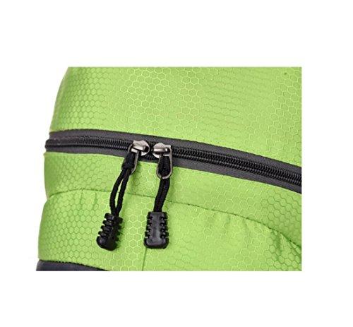 Z&N Backpack Capacità 30L Zaino Da Viaggio Di Svago Borsa A Vento Da College Borsa A Tracolla Sportiva Alpinismo Campeggio Multiuso Equitazione Unisex Portatile C 30L A