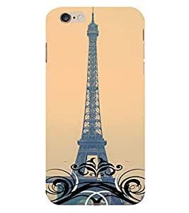 Eiffel Tower 3D Hard Polycarbonate Designer Back Case Cover for Apple iPhone 6S Plus