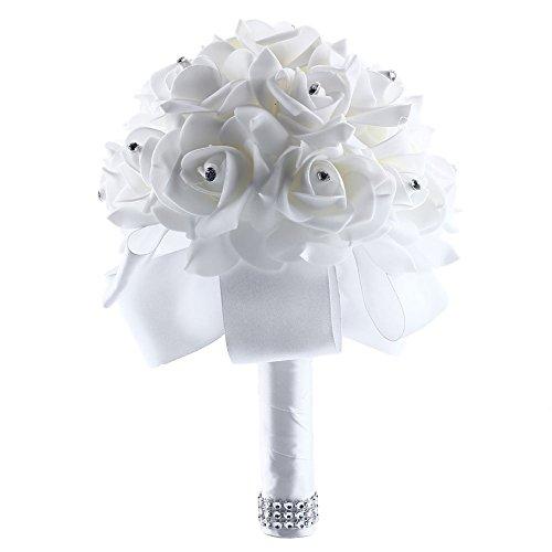 Artificial Wedding Bouquets Amazoncouk