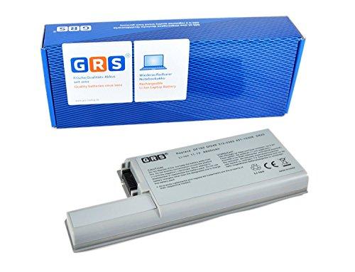 GRS Batterie d'Ordinateur Portable avec 6600 mAh pour Dell Latitude, 11,1 V