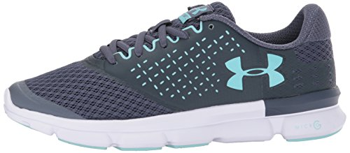 Under Armour Ua W Micro G Speed Swift 2 Chaussures de Running Femme Gris (Apollo Gray)