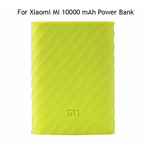 Heartly Soft Silicone Protector Case Cover for Xiaomi Mi 10000 mAh Power Bank ( Powerbank Not Included ) - Great Green