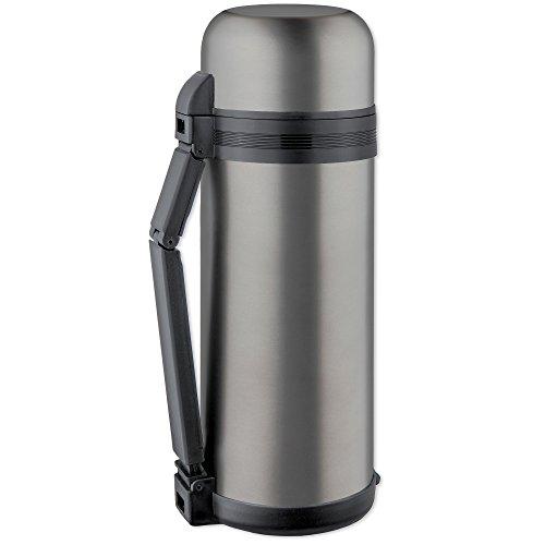 Isosteel 9902wat Thermos 1,5L, 18/8in acciaio inox, colore: grigio titanio, con zweiteiligem...