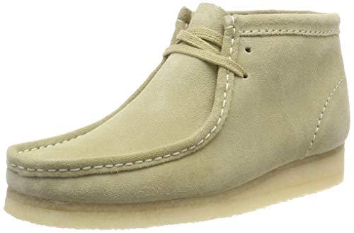 Clarks Originals Damen Wallabee. Chukka Boots, Beige (Maple Suede), 39.5 EU - Damen-wallabee Boot