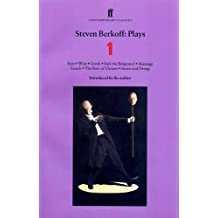 "Steven Berkoff Plays 1: East; West; Greek; Sink the Belgrano!; Massage Lunch; The Bow of Ulysses; Sturm und Drang: ""East"",""West"",""Greek"",""Sink the ... Bow of Ulysses"",""Sturm Und Drang"" Vol 1"