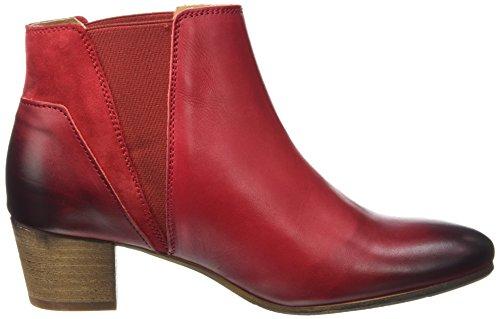 Kickers Damen Freddie Klassische Stiefel, Knöchelhoch Rot