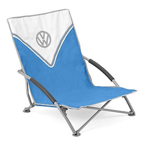 Volkswagen VW Low Folding Beach Chair Camping Fishing Lightweight Portable Bag