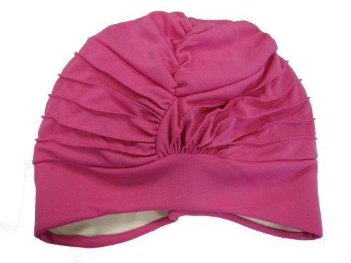 Fashy Gorro de natación para mujer, tamaño único, color rosa