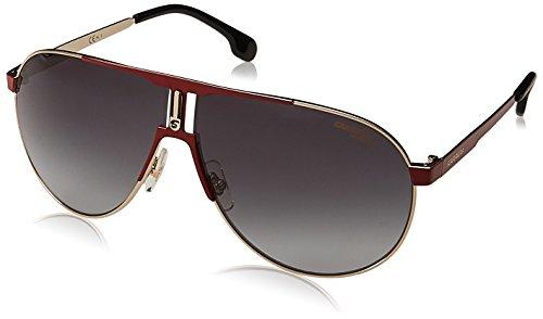 Carrera Unisex-Erwachsene 1005/S 9O AU2 Sonnenbrille, Rot (RED GOLD/DARK GREY SF), 66