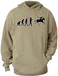 ShirtInStyle Kapuzenswaetshirt EVOLUTON STUFF Evolution Polospieler Golfer Golfen Golf