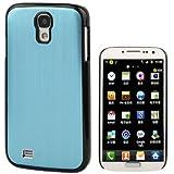 Rocina HardCase Schutzhülle für Samsung i9500 Galaxy S4 in metallic hellblau