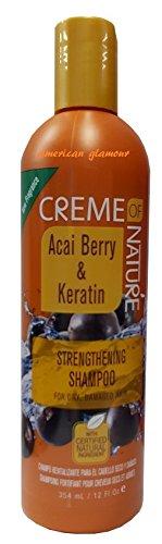 Creme of Nature Acai Berry & Keratin Strengthening Shampoo 354ml