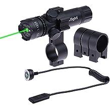5mw 532nm táctico alcance de la vista láser verde con Picatinny Rail Mount + barril de