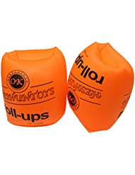Summer gonflable de natation Swim Float Brassards Roll-Up Manchettes Anneaux de natation pour adulte et enfants