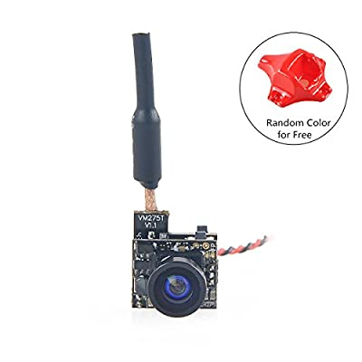Crazepony-UK FPV Micro AIO Camera 5.8G 40CH 25mW Transmitter with Y Splitter for FPV Mini Drone