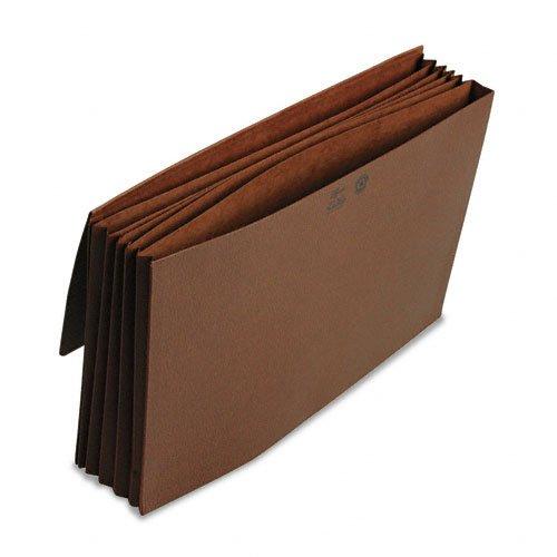 SMEAD 7237551/10,2cm EXP Partition Wallet, Kordel, 6-pocket, Legal, Redrope bedruckt