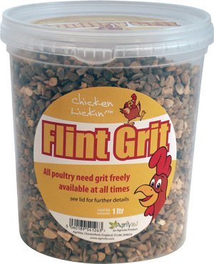 Agrivite F Agrivite Flintgrit Poultry Grit 1.5kg 1500g (Packaging May Vary) from Agrivite F