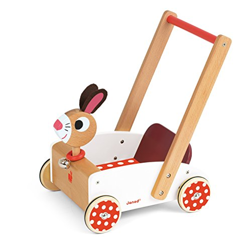 Janod J05997 - Carretto Crazy Rabbit