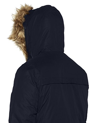 JACK & JONES Herren Jormountain Parka Jacket Blau (Total Eclipse)