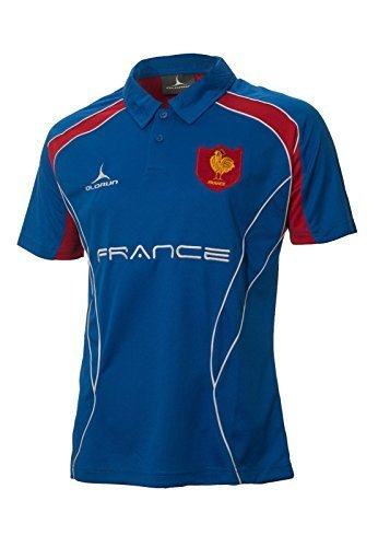 Olorun Rugby-Shirt, Frankreich, Rugby-Fans, Poloshirt S–XXXXL, Extra Large