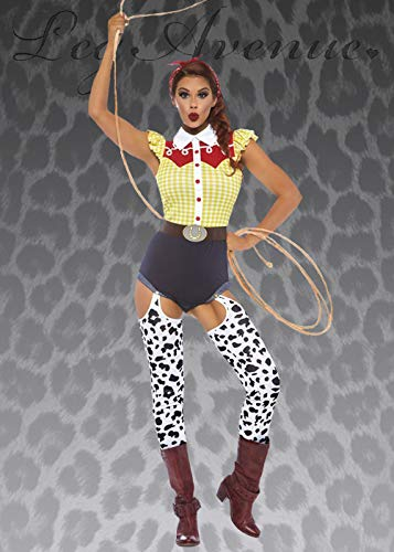 Magic Box Int. Deluxe Jessie Cowgirl Kostüm für Damen Small (UK 8-10) (Jessie Deluxe Kostüm)