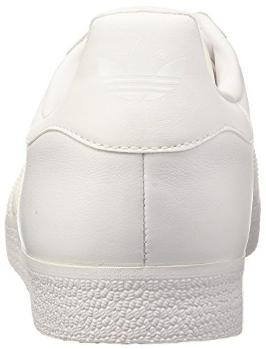 adidas Gazelle, Baskets Mode Homme Blanc (Footwear White/Footwear White/Gold Metallic)