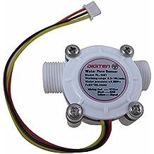 Digiten - Interruptor de sensor de caudalímetro G3/8, medidor de flujo de agua