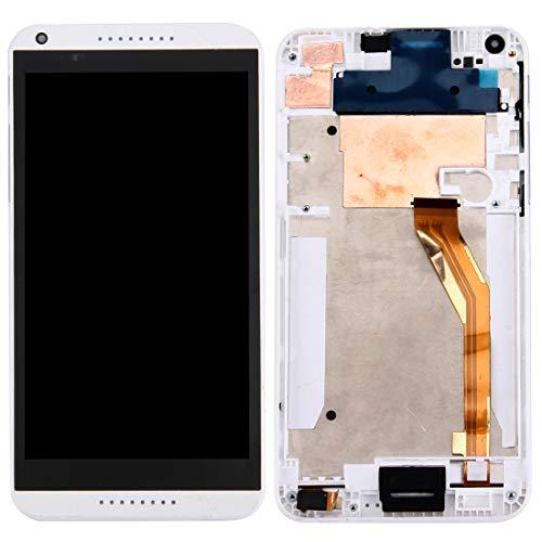 CHENLIANGPO Gutes Ersatzteil LCD Display + Touch Panel mit Frame Ersatz LCD Reparatur kaputtes LCD for HTC Desire 816 (schwarz) (Farbe : Weiß) (816 Desire Htc Lcd-ersatz)