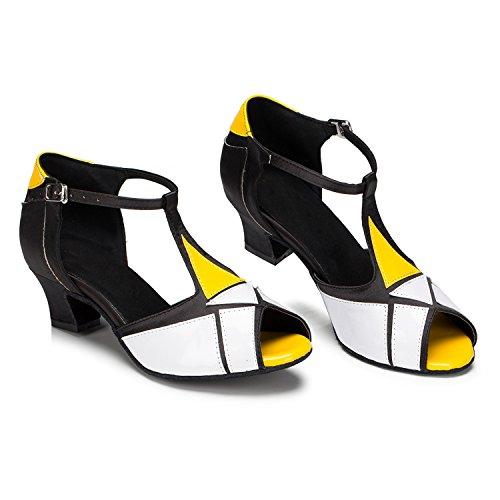 Miyoopark - Ballroom donna White/Yellow-5cm heel