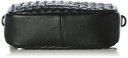 CINQUECosma Crossbag - Borsa a tracolla Donna Nero (Schwarz (schwarz 9000 9000))