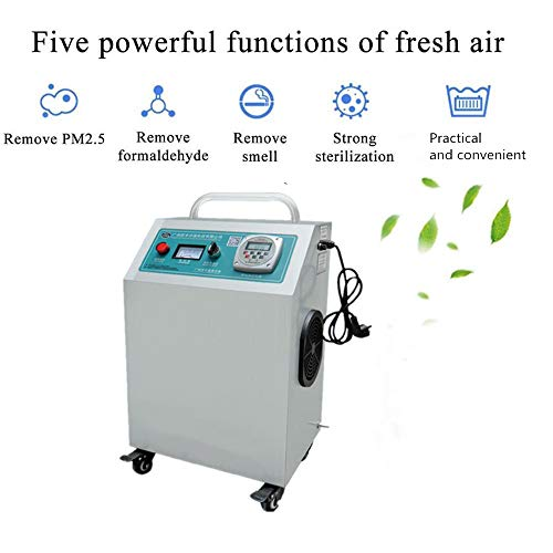 416oqa2fNjL. SS500  - GXHGRASS Commercial Ozone Generator, 15000Mg/ Industrial O3 Air Purifier Deodorizer Sterilizer, Two Kinds of Timers,Light Grey