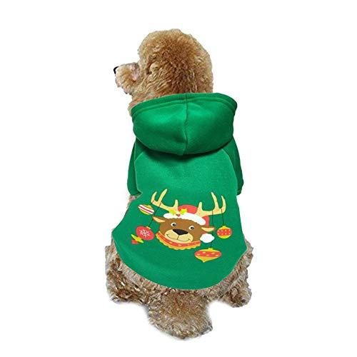 presentimer Weihnachtshundekostüme, Haustier-Ausstattung beleuchtete Oben Haustier-Hemd-Welpen-Haustier Hoodie-Kleidung LED-Feiertags-Hündchen-Strickjacke