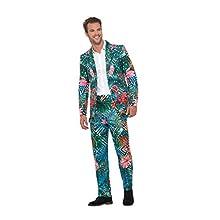 Smiffys Hawaiian Tropical Flamingo Suit