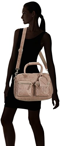 Cowboysbag The Bag Small 1118 Unisex-Erwachsene Henkeltaschen 38x23x14 cm (B x H x T) Grau (Elephant Grey 135)