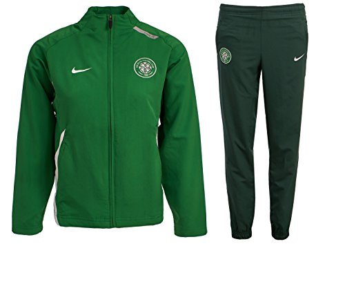Junior Jog Pant (Nike Jungen Trainingsanzüge Boys Futsal Celtic FC Tracksuit Junior Training Kids Woven Presentation Soccer Jog Suit New (Small (8/10 Years)))